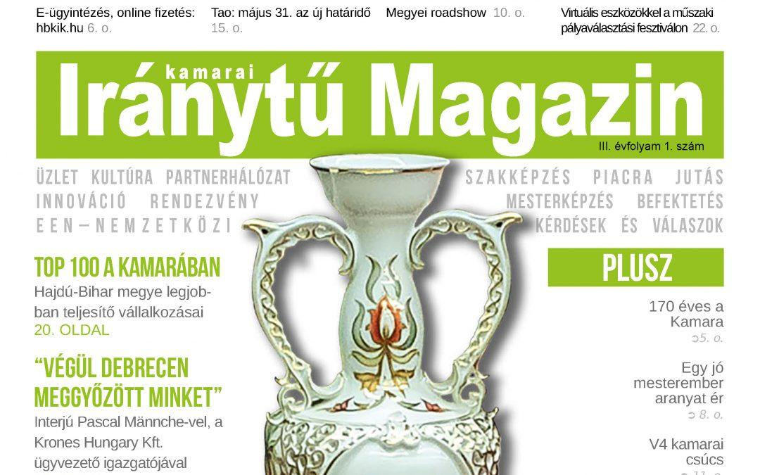 Megjelent a Kamarai Iránytű Magazin legújabb száma!