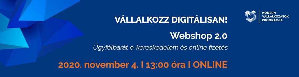 Vállalkozz Digitálisan! webinárium a kamara társszervezésében