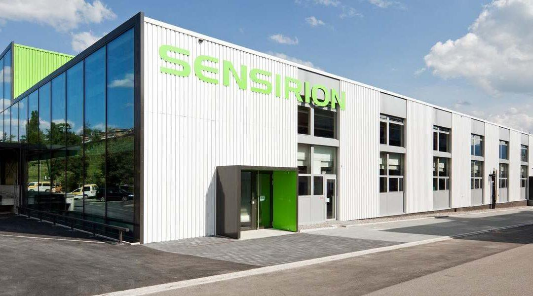 The building of Sensirion's manufacturing plant in Debrecen has reached its highest point