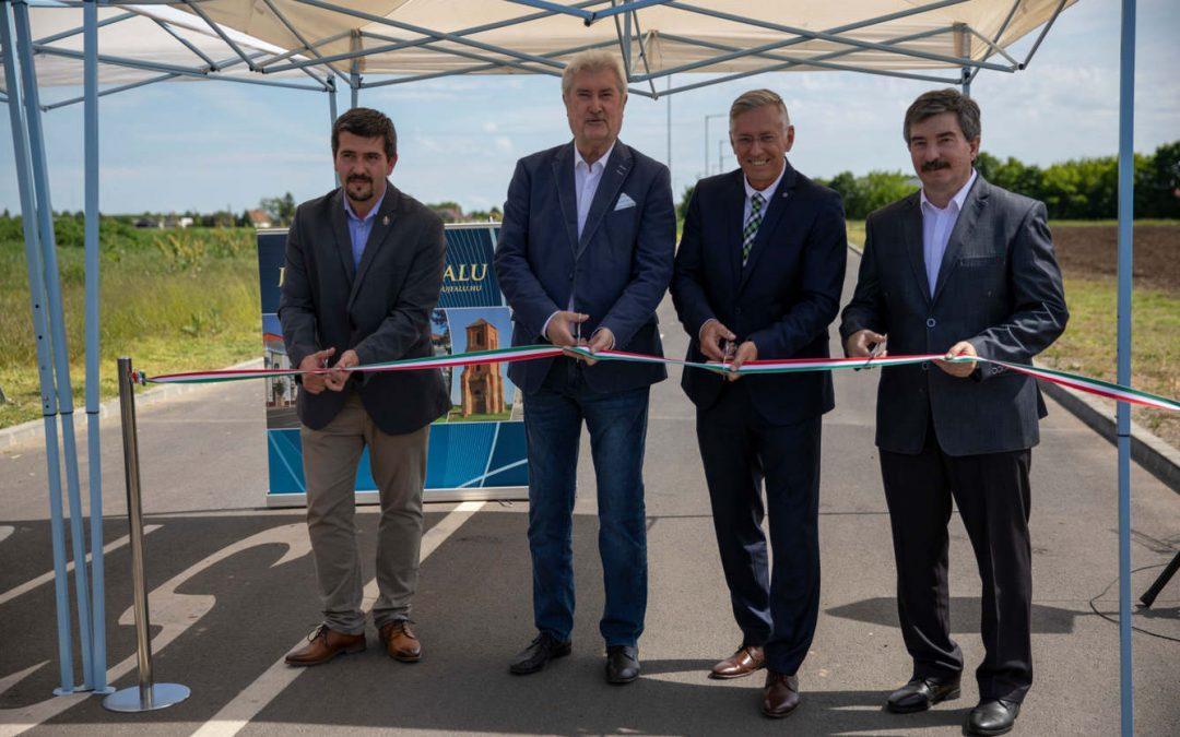 Új ipari területtel gazdagodott Berettyóújfalu