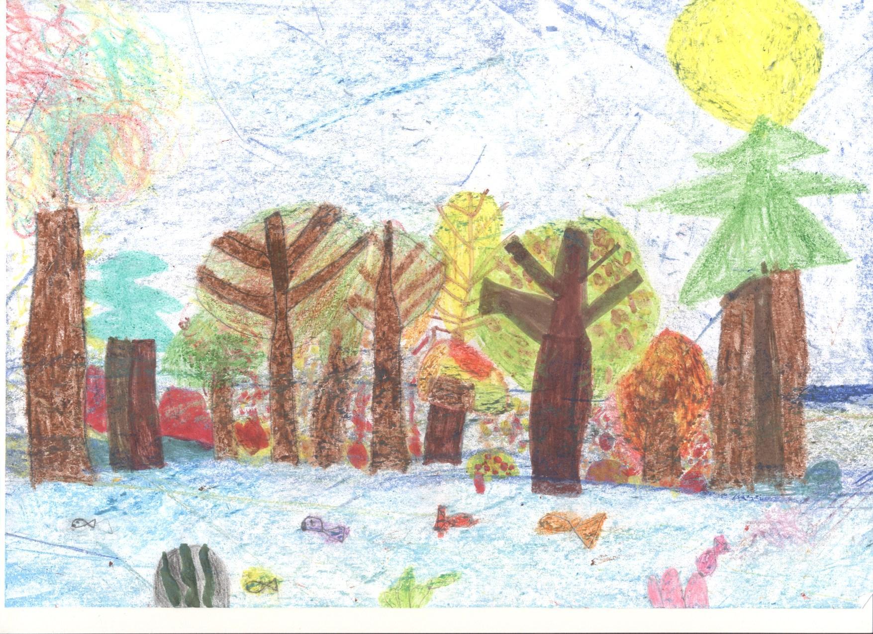 Ősszel az erdő Debreceni Vörösmarty Mihály Általános Iskola