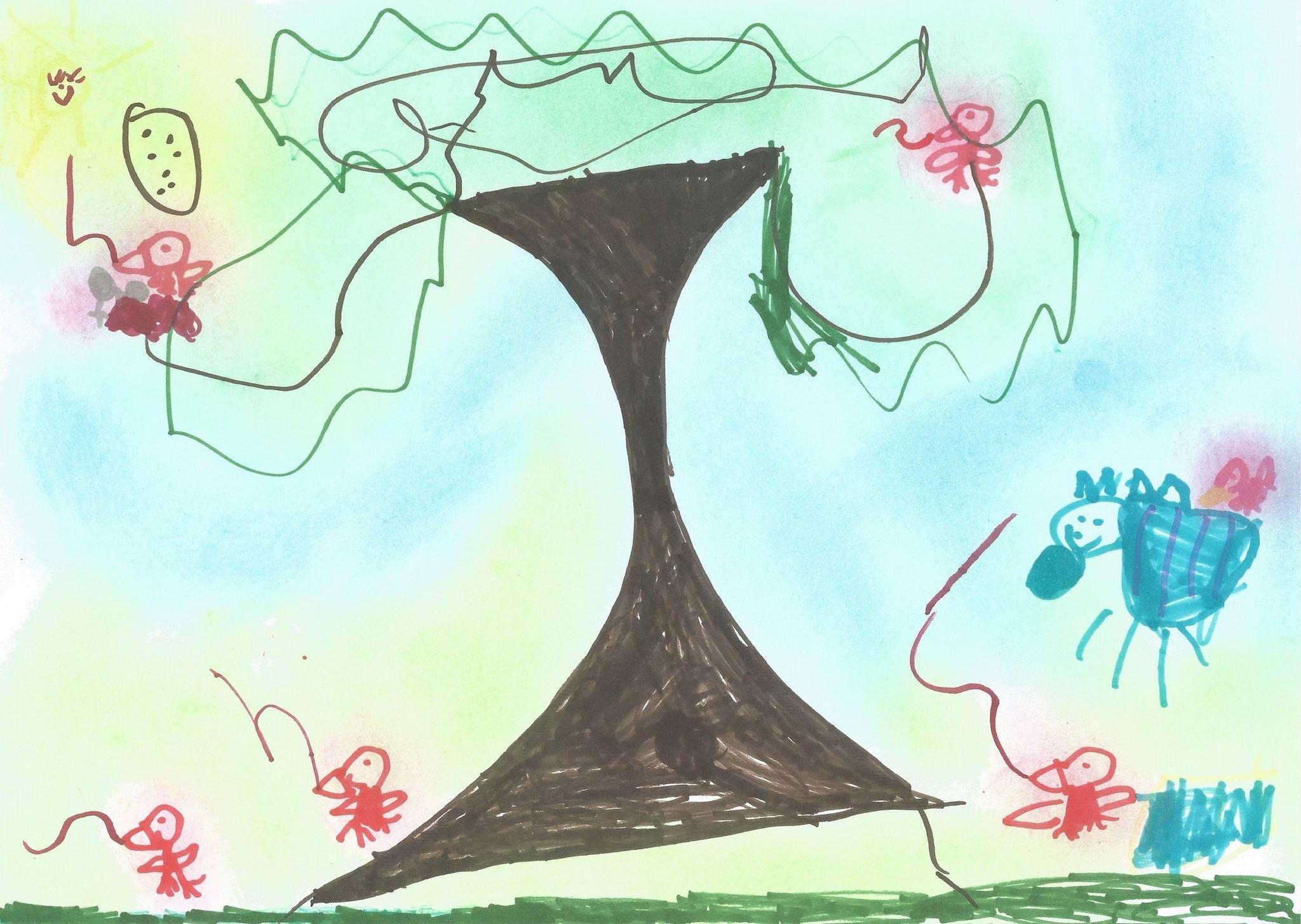 A fa a madarak otthona Nádudvari Napfény Óvoda