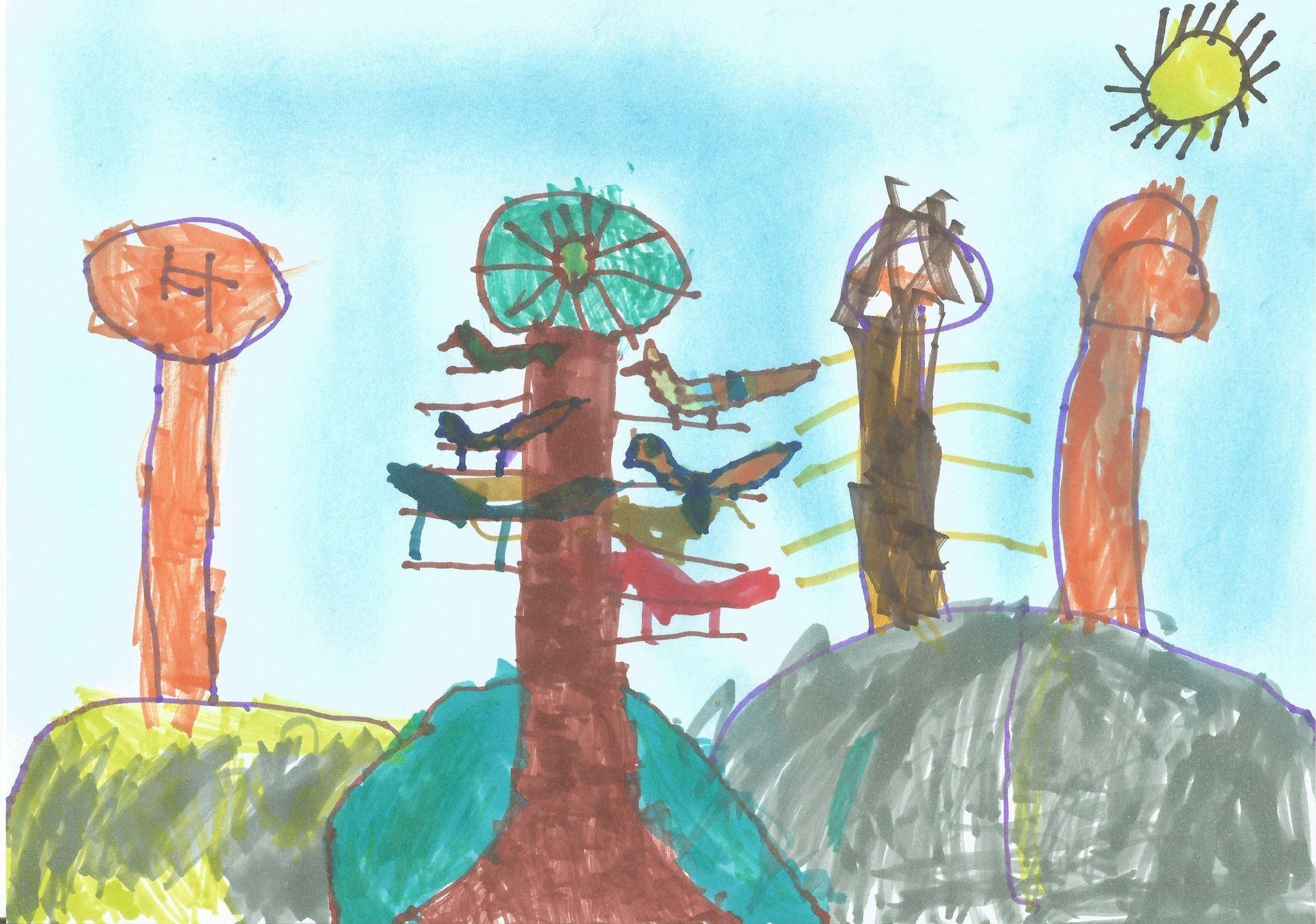 A madaraknak kell az erdő Nádudvari Napfény Óvoda