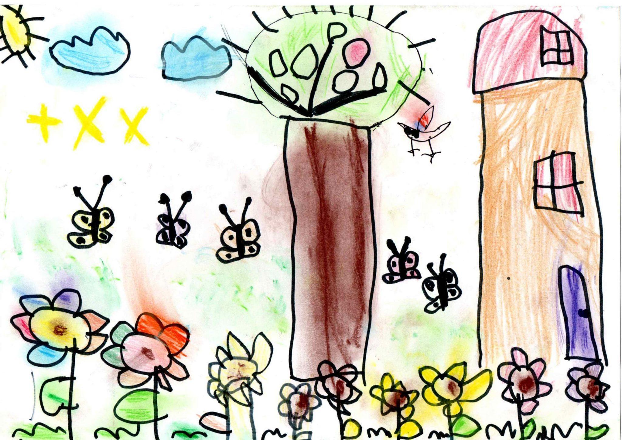 Boldog erdő egészségben Pocsaj Kismarja Kikelet Óvodája