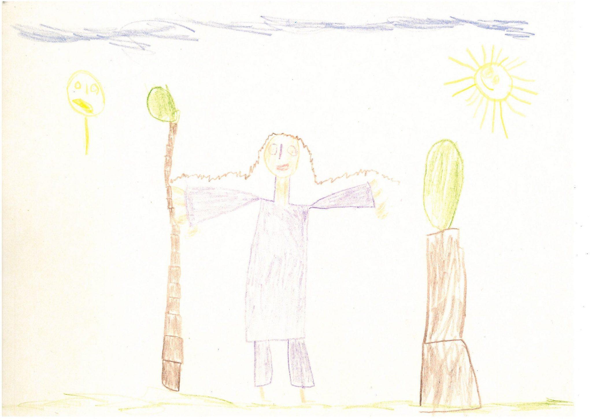 Kislány az erdőben Debreceni Százszorszép Óvoda