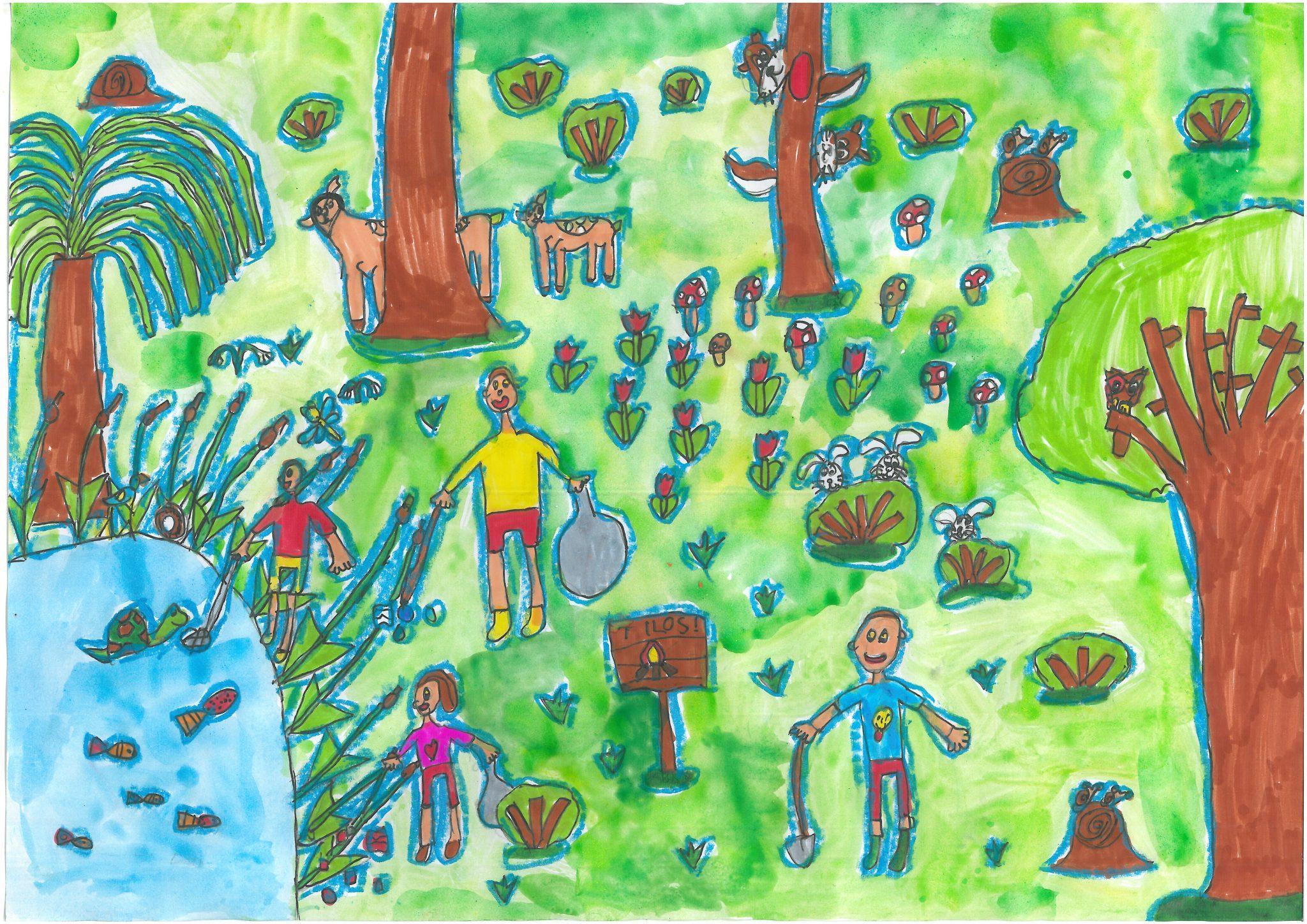 Tartsd tisztán az erdőt Debreceni Benedek Elek Általános Iskola