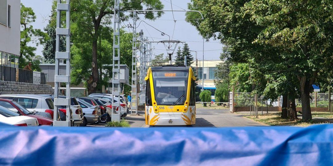 Bosch's innovative collision avoidance system is being tested on trams in Debrecen