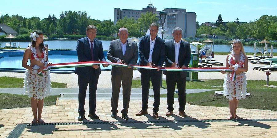 Új fejlesztés Hajdúszoboszlón a gazdaság- és a turizmus újraindításáért